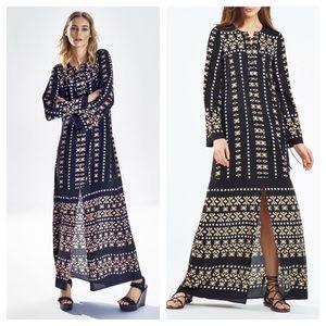 BCBGMaxAzria / lianna deco square print dress